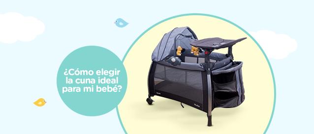 ¿Cómo elegir la cuna ideal para mi bebé?